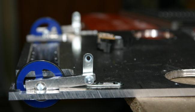 Roulettes sur le chassis