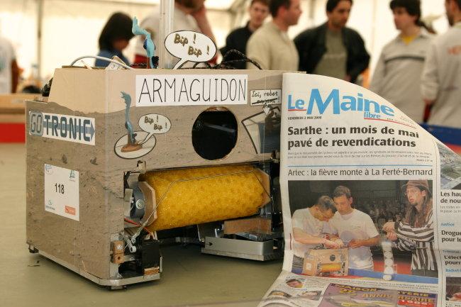 Robot et journal