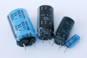 condensateurs chimiques petit