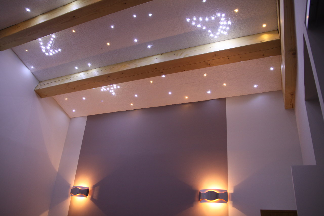 Faire un ciel toil avec des leds 1 2 for Decoration plafond ba13